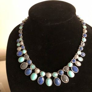 🎉Coastal Blue Statement Necklace
